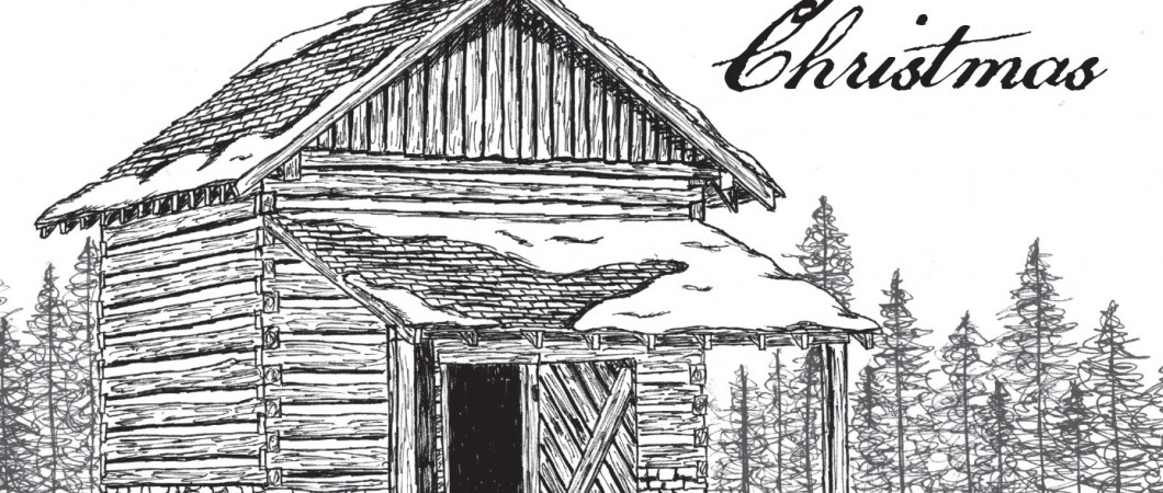 Tobacco Barn Christmas Card